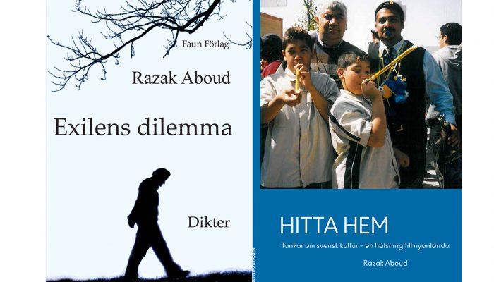 Razak Aboud berättar om sin diktsamling Exilens dilemma, det inre livet och det gemensamma.