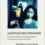 """Bokomslag till """"Adoption med förhinder"""""""