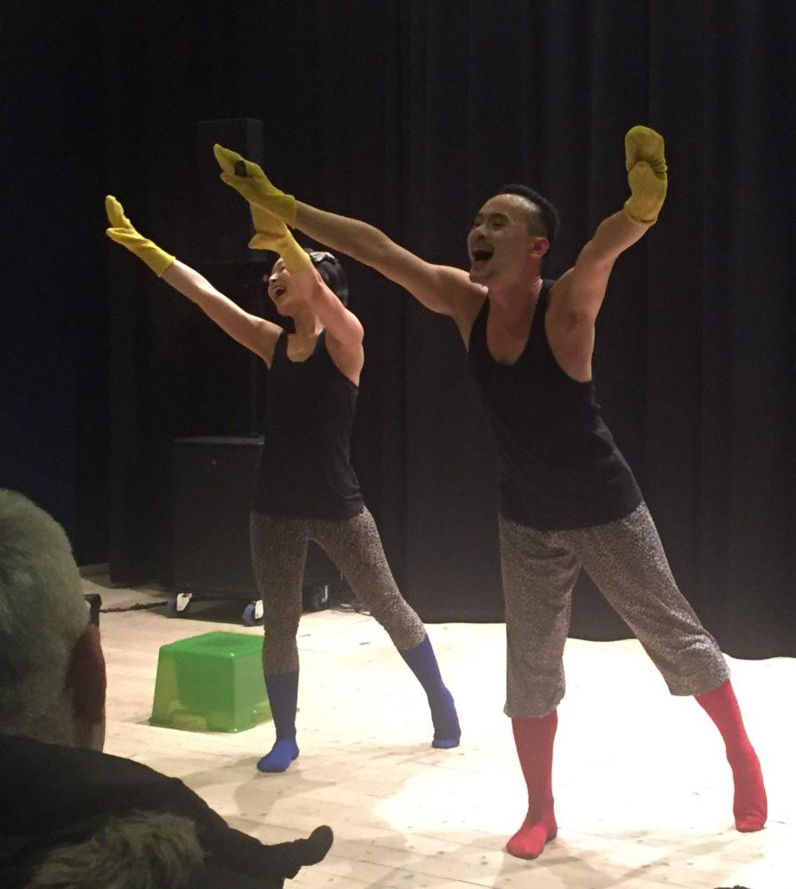 Dansföreställning Yellow Card