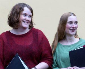 Marit och Anja - högskolekursen