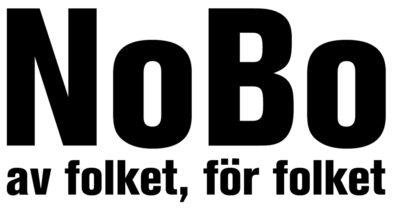 Logga för NoBo av folket, för folket.