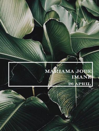Mariama Jobe bokomslag Imane