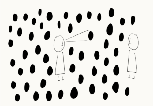Bilders makt logga av Johanna Rubin Dranger