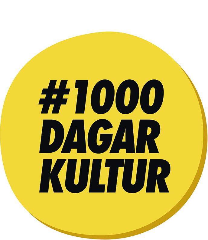Logga #1000dagarkultur