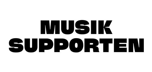 Musik supporten - logo